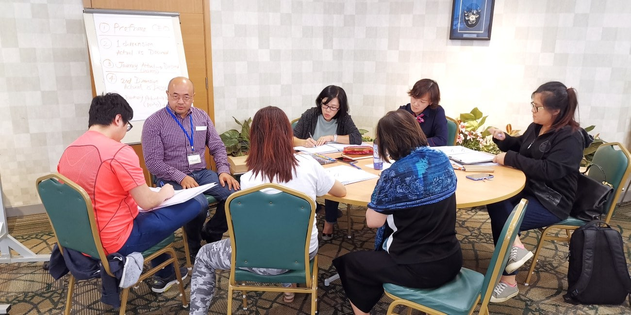 executive coaching in group setting singapore and asia