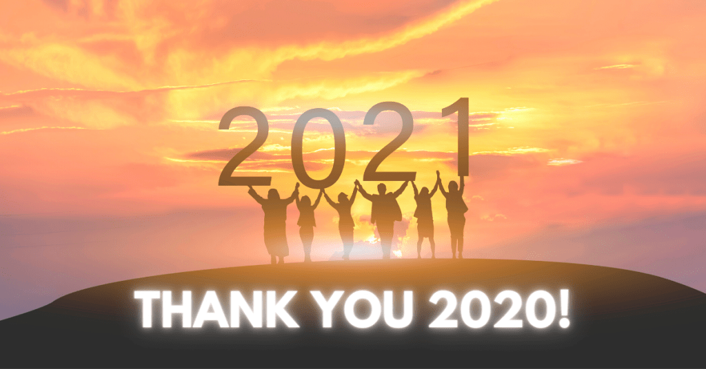 gratitude 2020 and proactive self development 2021